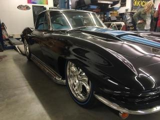 Black Corvette Bluelines 2