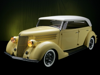 1936 Ford w/ White Wall Tires