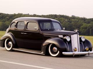Packard Sedan White Walls
