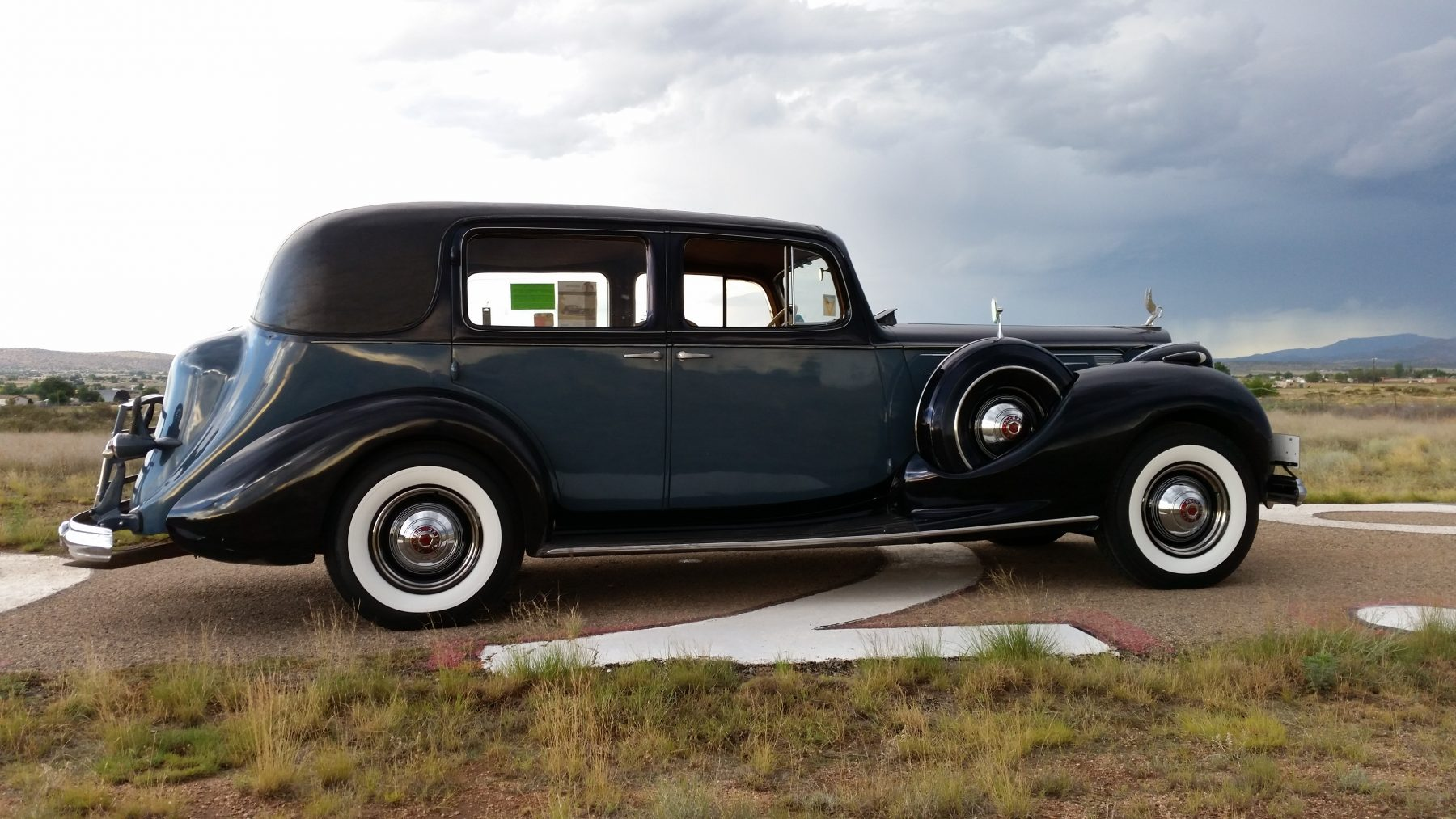 1938 Packard V12 White Wall Tires