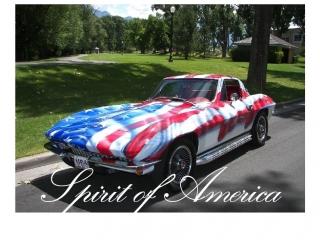 American Flag Corvette Smoothies