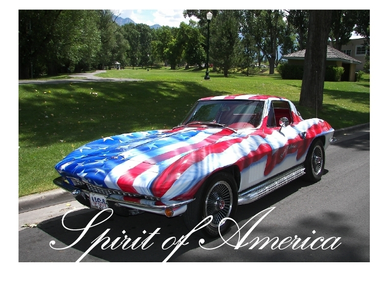 American Flag Corvette Smoothies