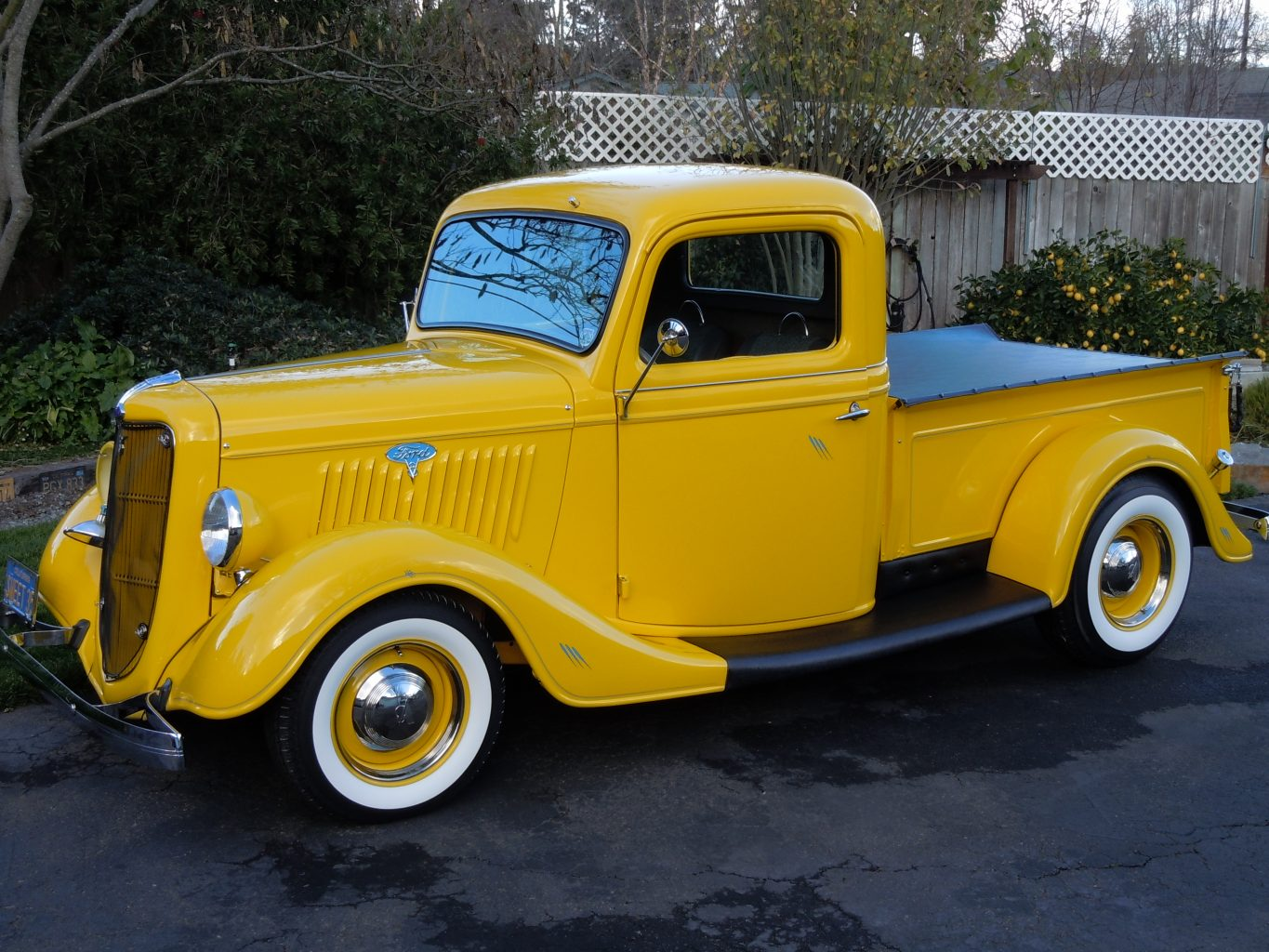 1935 Ford White Wall Tires