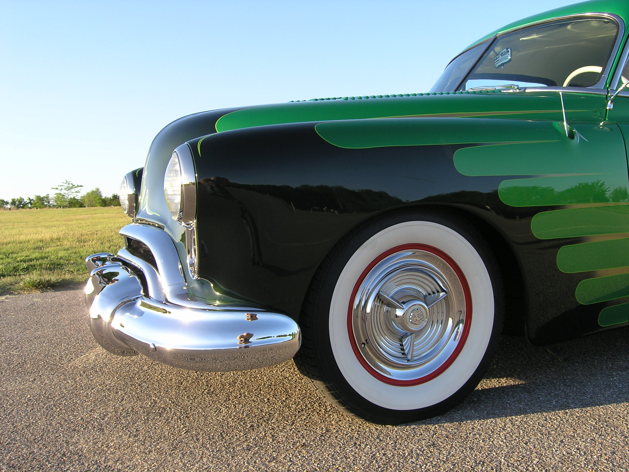 Green White Wall Tires 7