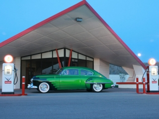 Green White Wall Tires