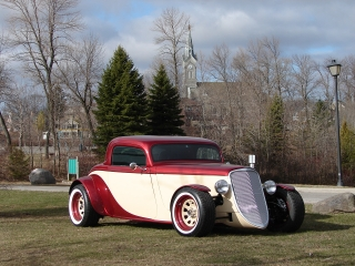 1933 Ford GForce White Walls
