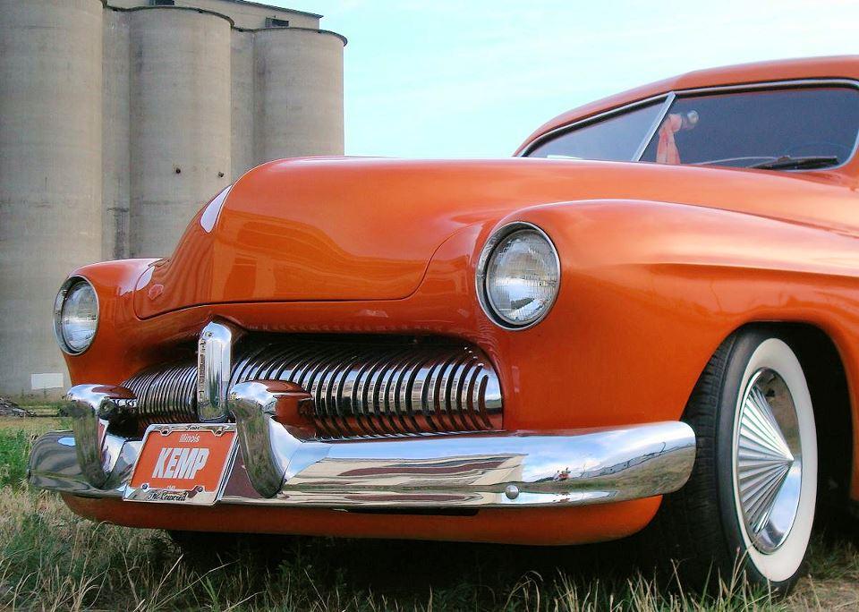 Orange White Wall Tires 9