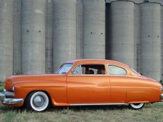 Orange White Wall Tires 8