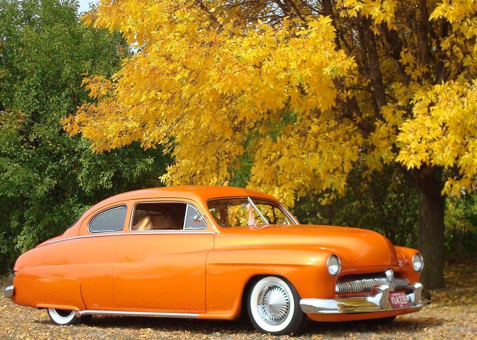 Orange White Wall Tires 7