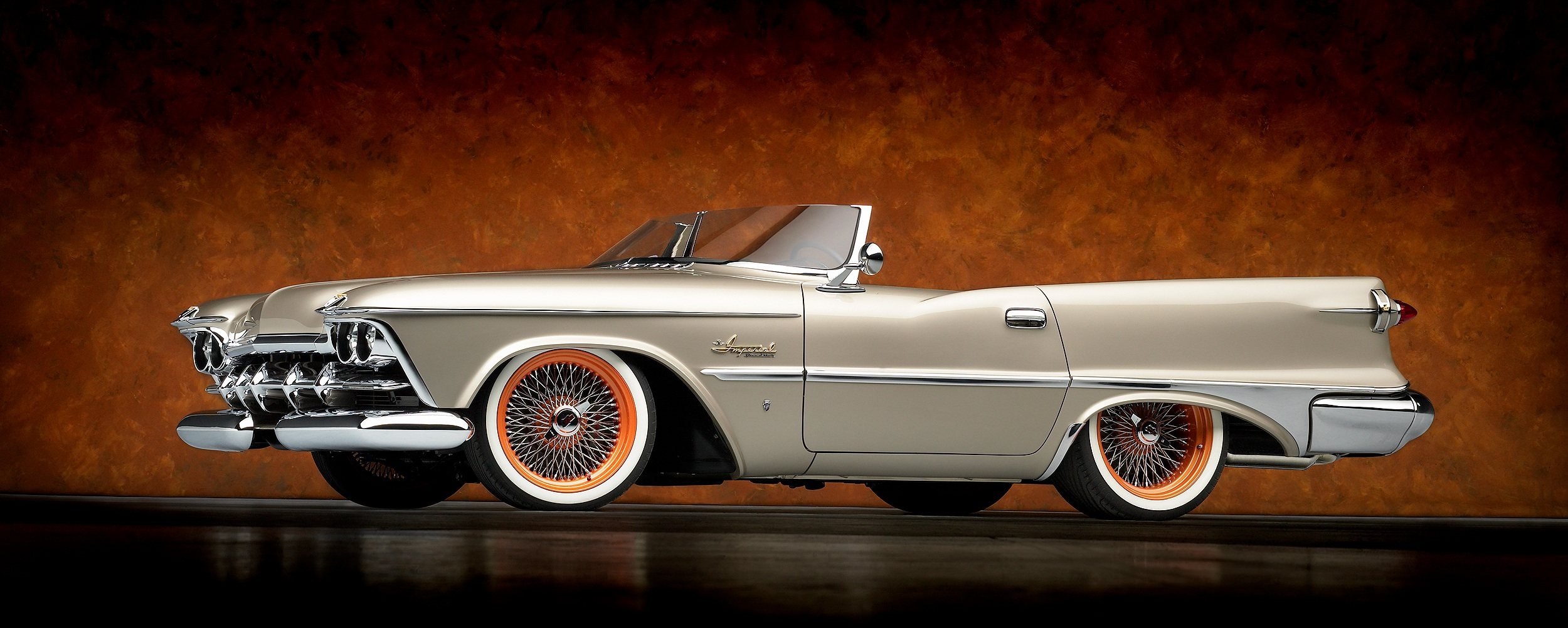 Imperial Speedster White Wall Tires 2