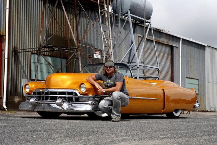 Orange w/ White Wall Tires 8