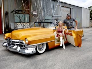 Orange w/ White Wall Tires 4