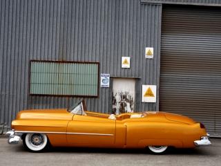 Orange w/ White Wall Tires 3