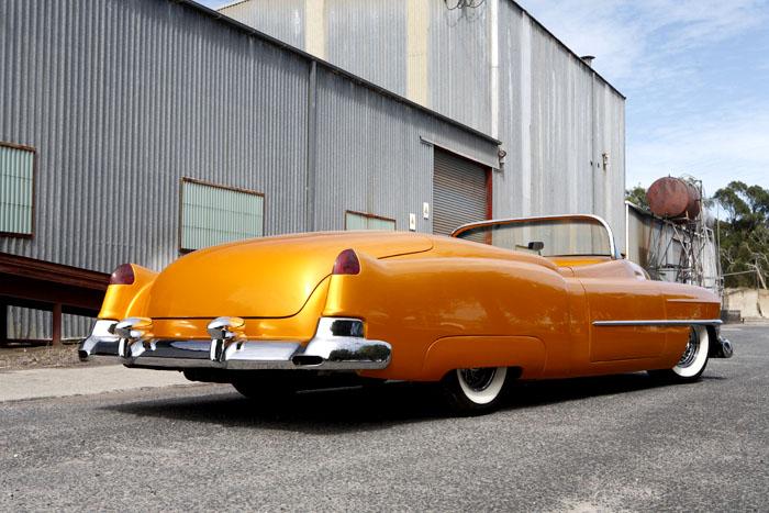 Orange w/ White Wall Tires