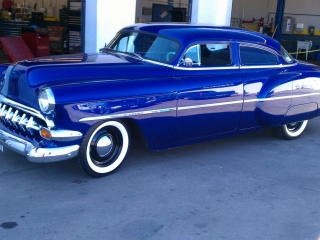 1954 Chevy White Wall Tires