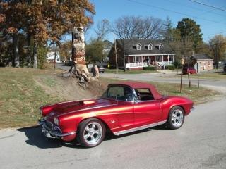 Red Corvette Redlines