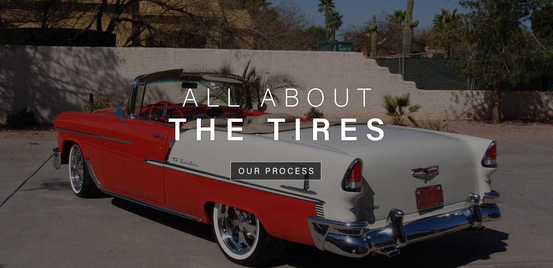 White Wall Tires & Custom Vintage Tires - Diamond Back Classic Tires :