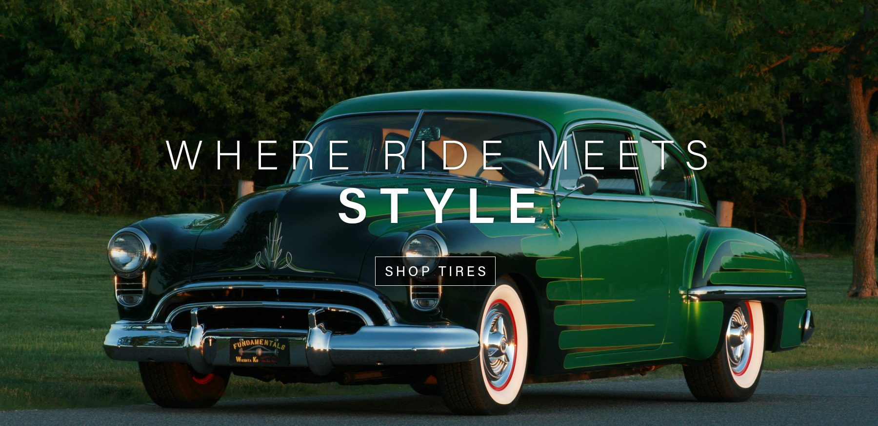 White Wall Tires & Custom Vintage Tires - Diamond Back Classic Tires :